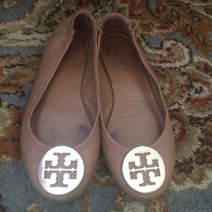 Tory Burch Mini Travel Ballet Flats